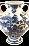 Henkelvase Delfter Keramik
