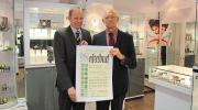 Diamantener Meisterbrief für Josef Herweg