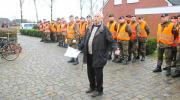 Soldaten sammelten mit