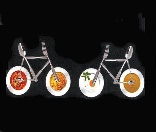 "Das ""Bike and Dinner"" Logo. Bild: WN Archiv"